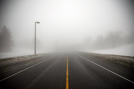 DRIVING IN THE MIST