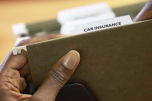 Car insurance files
