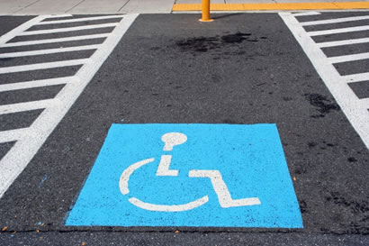 HANDICAP-PARKING-SPACE