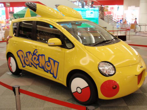 Pokemon-Car-Pikachu